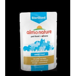 Almo Nature Sterilised kana, 70g