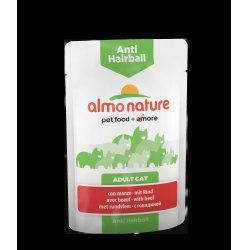 Almo Nature Anti Hairball naudanliha, 70g