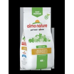 Almo Nature Anti Hairball kana ja riisi, 400g
