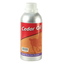 Cedar oil, pliisteri 450 ml teräspullo