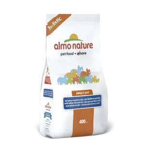 Almo Nature Holistic Cat siika ja riisi, 400g