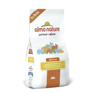 Almo Nature Holistic Cat kana ja riisi, 400g
