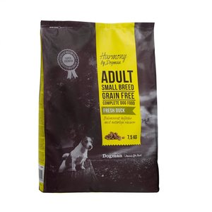 Dogman Harmony Small breed ankka 7,5kg
