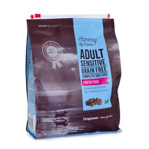 Dogman Harmony Adult Sensitive kala 3kg