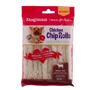 Dogman Chicken Chip Roll kana 10kpl S